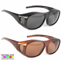 POLARIZED FIT COVER OVER SUNGLASSES COVER ALL GLASSES DRIVIN