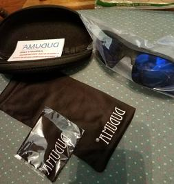 Duduma Polarized Sports Sunglasses Black/Blue
