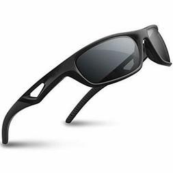 RIVBOS Polarized Sports Sunglasses Driving Glasses Shades fo