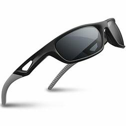 RIVBOS Polarized Sports Sunglasses Driving shades For Men TR