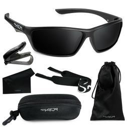 Morph Aim Polarized Sports Sunglasses for Men and Women Comp