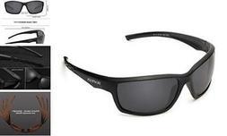 Polarized Sports Sunglasses for Men Women Running Fishing Dr