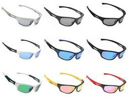 Siren Polarized Sports Sunglasses w Case TR90 Unbreakable Fr