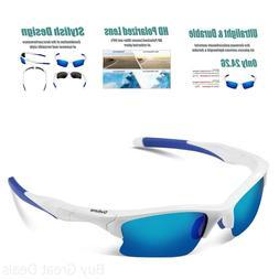 Duduma Polarized Sports Sunglasses for Men Women Baseball Fi