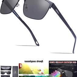 Carfia Polarized Sunglasses for Men, Driving Sunglasses 100%