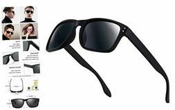 Polarized Sunglasses for Men Women Driving Fishing Unisex Vi
