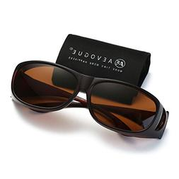 AEVOGUE Polarized Sunglasses Mens Over-The-Glass Unisex Pres