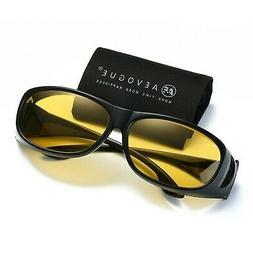AEVOGUE Polarized Sunglasses Mens Over-The-Glass Prescriptio