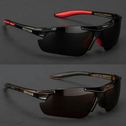 Nitrogen Polarized Sunglasses Mens Sport Running Fishing Gol
