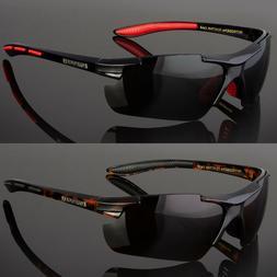Nitrogen Polarized Sunglasses Men Sport Running Fishing Golf