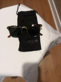 AEVOGUE Polarized Sunglasses Semi-Rimless Frame Brand Design