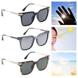 Polarized Sunglasses Unisex Fashion Women Men Square Frame O