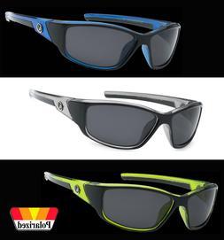 Polarized Nitrogen Sunglasses Wrap Sport Running Fishing Gol