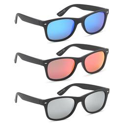 polarized uv400 classic style sunglasses with mirror