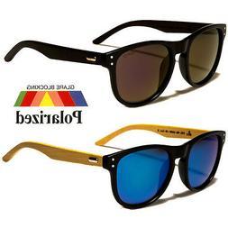 Polarized Vintage WOOD Sunglasses Retro Glasses Vintage Fram