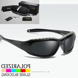 Polarized Wind Resistant Sunglasses Sports Motorcycle Riding