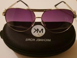 Michael Kors Polarized Womens Sunglasses UV400 MK SILVER!! A
