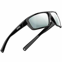 ATTCL Polarized Wrap Sunglasses For Men Cycling Driving Fish