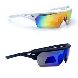VERTX Premium Sport Polarized Sunglasses New Wrap Around 511