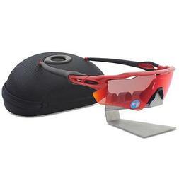 OAKLEY Radar - Gold Frame Polarized Sport Sunglasses FREE EX