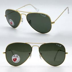 Ray-Ban aviator new sunglasses for men women classic green p