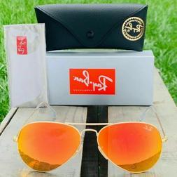 Ray-Ban Aviator Classic RB3025 112/69 GOLD Sunglasses 58mm M