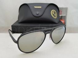 Ray Ban CHROMANCE POLARIZED Sunglasses RB4320CH 601S5J Black