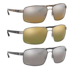 Ray Ban Chromance Polarized Sunglasses RB3604CH Silver Or Gr