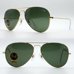 100% Guaranteed Genuine Ray Ban Aviator RB3025 L0205 Sunglas