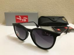 Ray-Ban Erika RB4171 622/8G 54 18 Matte Black POLARIZED Sung