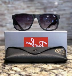 ace9d05235 Ray-Ban Justin Sunglasses RB4165 601 8G 54mm Matte Black Gre