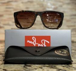 c58ca9a6b9 Ray-Ban Justin Sunglasses RB4165 710 13 54mm Tortoise Frame