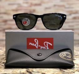 Ray Ban New Wayfarer Polarized Sunglasses RB2132 901/58 52mm