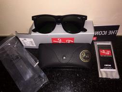 abc0e7dae4 Ray Ban Original Wayfarer RB 2140 Black Frame