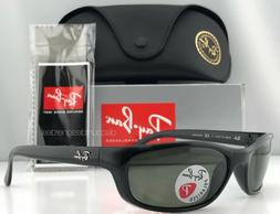 Ray-Ban Predator RB4115 601/9A Sunglasses Black Green Polari