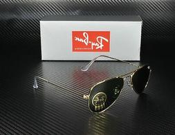 RAY BAN RB3044 L0207 Aviator Small Arista Crystal Green 52 m