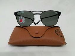 RAY BAN RB3429 SIGNET 002/58 BLACK METALFRAME POLARIZED SUNG