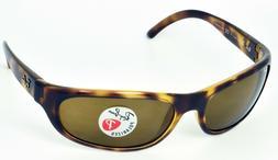 Ray Ban RB4033 642/47 Sunglasses Havana Frame Brown Polarize