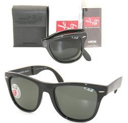 Ray Ban RB4105 Fold Wayfarer Sunglasses-601/58 Black -54mm