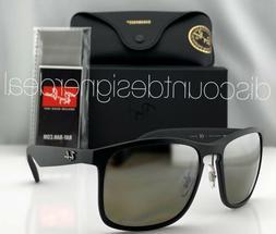 ray ban rb4264ch sunglasses 601s5j matte black