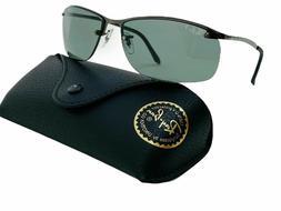 Ray-Ban Top Bar RB3183 004/9A Polarized Sunglasses Gunmetal