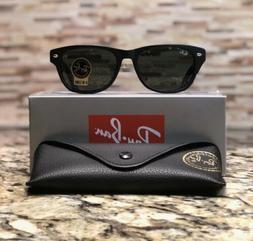 4dfb50df519 Ray-Ban Wayfarer Sunglasses RB2132 622 52mm Matte Black Fram