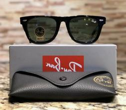 95d2763c225 Ray-Ban Wayfarer Sunglasses RB2140 901 50mm Classic Black Fr