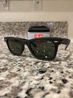 Ray-Ban Wayfarer Sunglasses RB2140 901S Matte Black 50mm/G-1