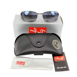 Ray Ban RB3478 Gunmetal Black Frame Blue / Grey Gradient 60m