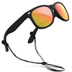 RIVBOS RBK004 Kids Children's Sunglasses Polarized Lens