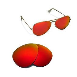 Walleva Replacement Lenses for Ray-Ban Aviator Large Metal R