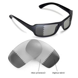 Walleva Replacement Lenses for Ray-Ban RB4075 61mm Sunglasse