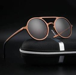 Retro Aluminum Magnesium Sunglasses Polarized Vintage Eyewea