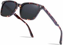 Carfia Retro Polarized Men'S Sunglasses Uv400 Protection A